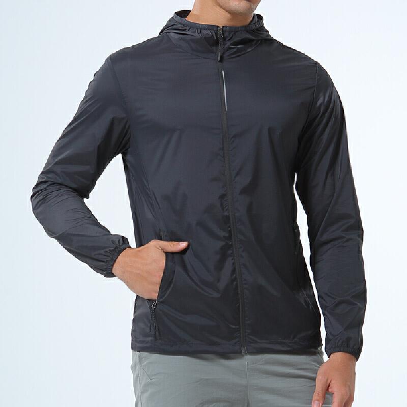 Lee Cooper防晒衣男2020春夏新品运动跑步长袖情侣户外薄款透气休闲连帽外套