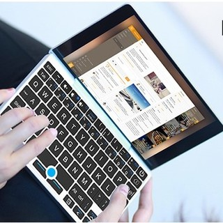 GPD Pocket系列 Pocket 1 笔记本电脑 (银色、凌动X7-Z8750、8GB、128GB SSD、核显)