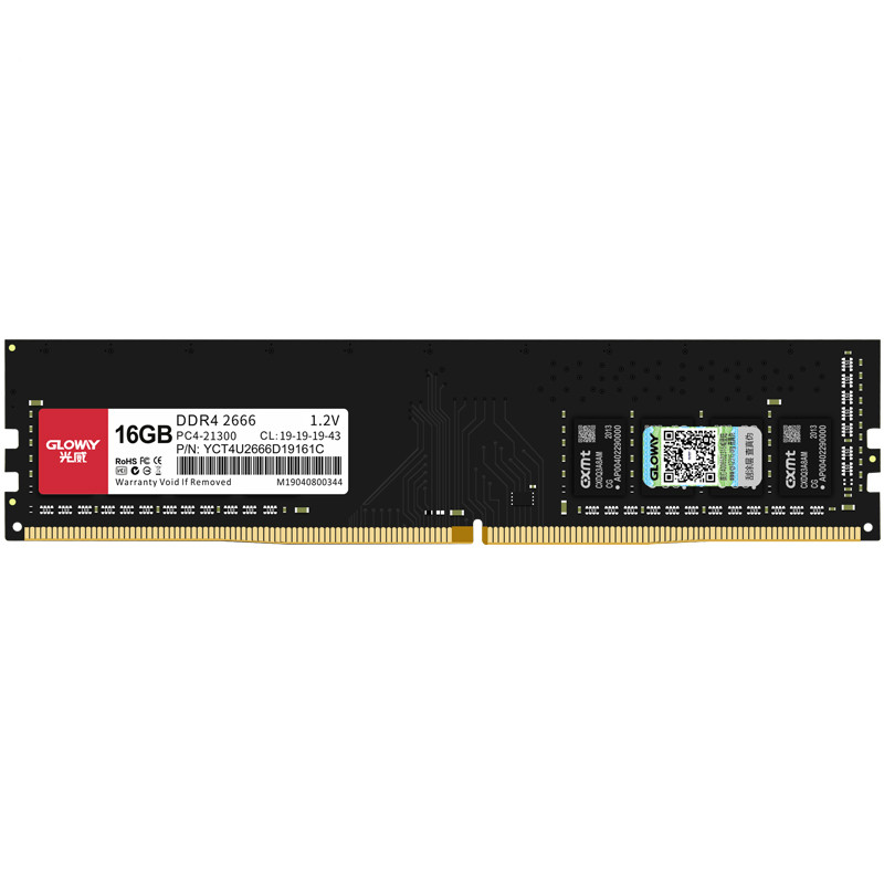GLOWAY 光威 弈Pro系列 DDR4 2666MHz 台式机内存条 16GB