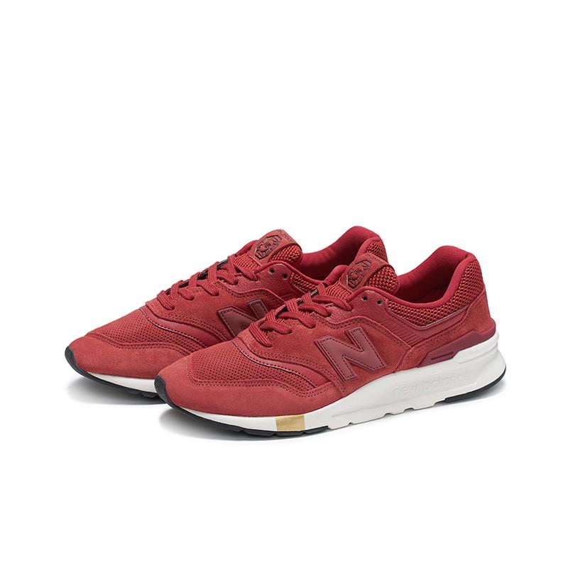 new balance  CM997HNY 男女款红色休闲运动鞋