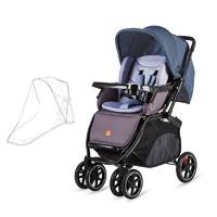 好孩子(gb) gb好孩子婴儿推车高景观可躺可坐四轮避震儿童折叠双向推行宝宝手推车C400 藏蓝色C400-P303BB