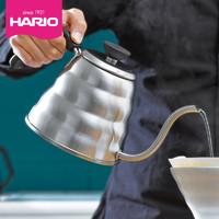 HARIO手冲咖啡壶 长嘴细口不锈钢咖啡壶 滴滤式手冲壶VKB
