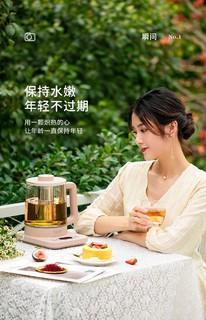 LIFE ELEMENT 生活元素 生活元素养生壶办公室家用多功能小型烧水壶保温一体煮茶器煮茶壶