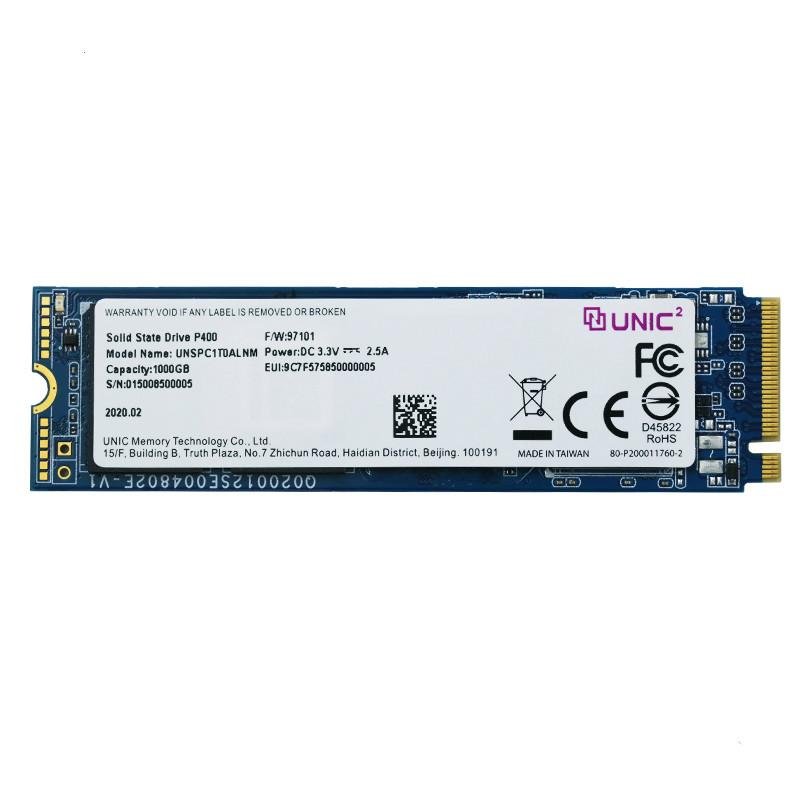 UNIC MEMORY 紫光存储 P400 NVMe M.2 SSD固态硬盘 1TB
