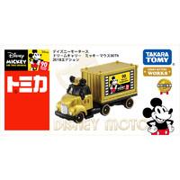 TOMY多美卡合金车模型迪士尼米奇90周年运输载卡车2018年版114116