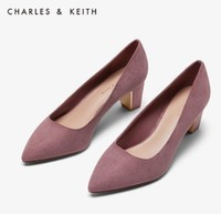 CHARLES&KEITH CK1-61720030 女士尖头高跟单鞋