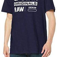 G-STAR RAW 男式图案 8 圆领短袖 T 恤