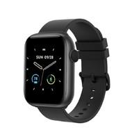 codoon 咕咚 F3 智能手表 1.3英寸 黑色表盘 黑色硅胶表带