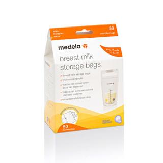 历史低价 :  Medela 美德乐 母乳储存袋储奶袋 50片 *4件