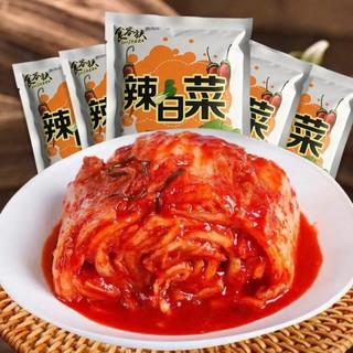 昊援 辣白菜500g*3袋+辣花萝卜500g*2袋