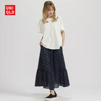 女装 (UT) ANNA SUI层叠长裙 427054 优衣库UNIQLO