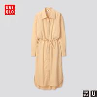 女装 抽绳连衣裙(长袖) 425582 优衣库NIQLO
