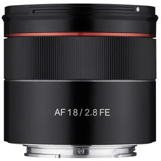 森养三阳AF 18mm F2.8 FE SAMYANG大光圈超广角微单镜头 自动对焦 星空风景 官方标配+UV+清洁套 索尼FE卡口