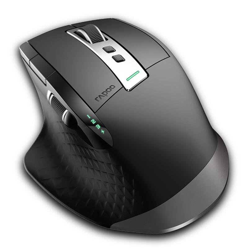 RAPOO 雷柏 MT750L 多模无线鼠标 黑色