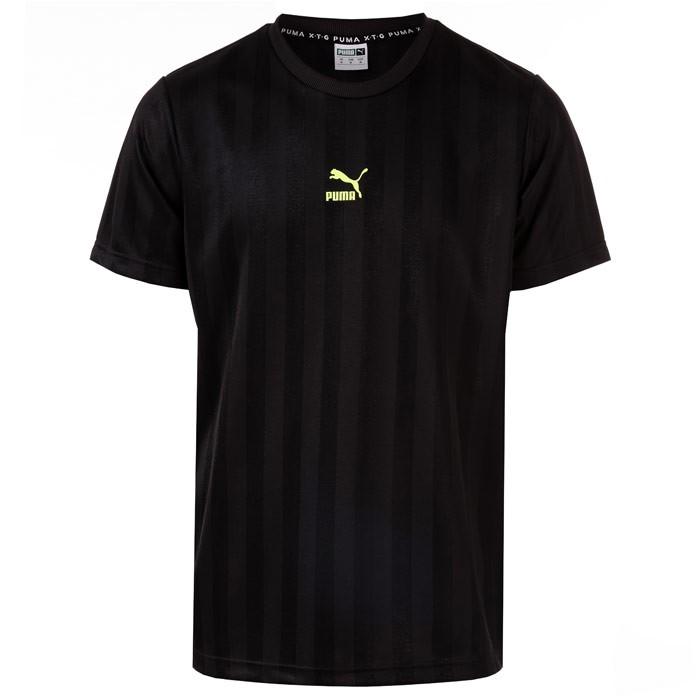 PUMA 彪马 男士XTG黑色T恤