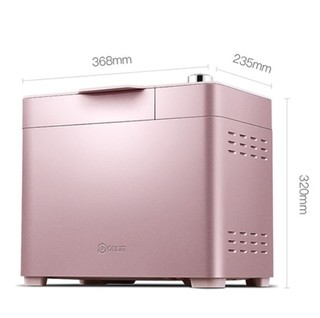 Donlim 东菱 DL-JD08 全自动面包机 粉色 1000g