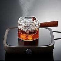 米良品  角锤目纹煮茶器 带滤网 550ml
