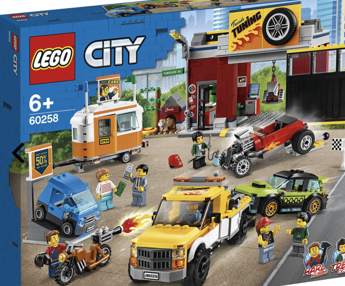 LEGO 乐高 城市系列 60258 汽车维修中心