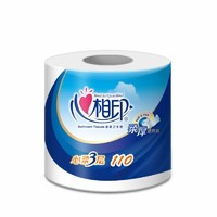 包邮心相印心柔卷筒纸纸巾手纸卫生纸有芯卷纸3层30卷纸家用 *5件