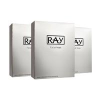 26日10点:RAY 妆蕾 蚕丝面膜 银色 10片 3盒装