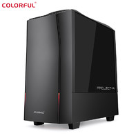 COLORFUL 七彩虹 黑鳍鲨-CBLAA1 台式机 (R5-3500X、8GB、256GB、GTX1650 Super)