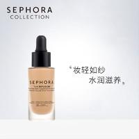 Sephora/丝芙兰细致自然薄纱粉底液水润亮肤裸妆遮瑕不易脱妆