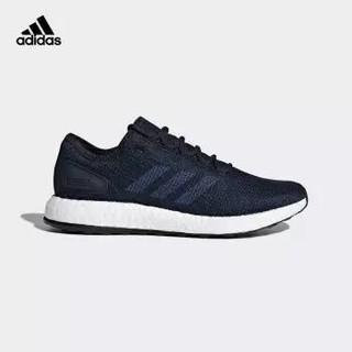 库存少 : adidas 阿迪达斯 pureboost 2.0 男子跑鞋 学院藏青蓝/暗靛蓝/影迹蓝 43