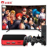 小霸王N1电视游戏机学习机4K家用体感经典游戏红白机 小霸王N1游戏机+双手柄