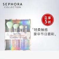 Sephora/丝芙兰萌萌企鹅豪华刷具套装面部眼部化妆刷柔软易上手