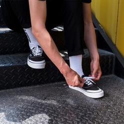 VANS 范斯 Authentic VN0A3MU6Y28 中性款帆布鞋