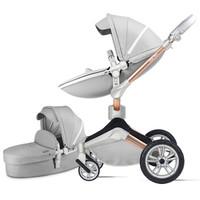 hotmom 辣妈 高景观可坐可躺折叠双向换向360度旋转儿童手推车
