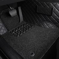 固特异(Goodyear) 汽车脚垫 丝圈大包围双层脚垫 适用于2015-2019款沃尔沃XC90五座国产专用 飞逸黑色