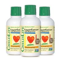 童年时光 儿童钙镁锌474ml  3瓶   香橙口味