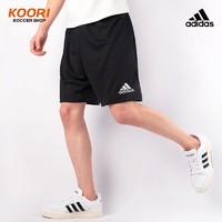 阿迪达斯短裤男夏季休闲跑步运动速干健身足球训练宽松薄款五分裤