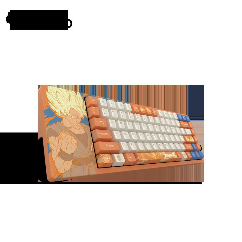 Akko ACG84 龙珠超 机械键盘 Akko轴/Cherry084键-青轴 ACG84悟空
