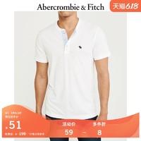 Abercrombie&Fitch 106167 男款短袖亨利式上衣