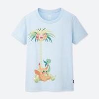 女装 (UT) UTGP2019 Pokémon 印花T恤(短袖) 422650