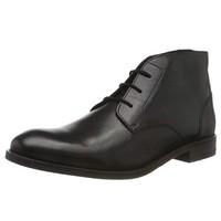 Clarks Flow Top 男士素面英伦踝靴