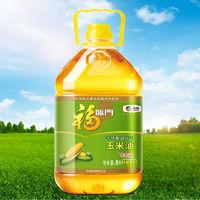 中粮福临门非转基因纯正玉米油 ·6L瓶