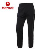Marmot/土拨鼠2020春夏新款户外运动男士弹力薄款速干长裤