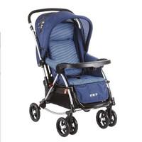 好孩子(gb)婴儿推车可坐可躺0-3岁婴儿车双向避震宝宝童车儿童推车可变摇篮摇椅 雅兰水晶