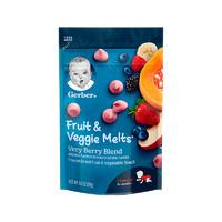 Gerber嘉宝 混合水果味酸奶小溶溶豆宝宝零食3段8个月以上28g