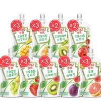 Heinz 亨氏 宝宝辅食果汁泥 24袋