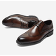 BELLE 百丽 6CK01CM9 男士布洛克皮鞋 359元包邮