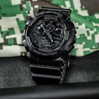 1日0点、61预告 : CASIO 卡西欧 G-Shock系列 GA-100CF-1ADR 男士运动手表
