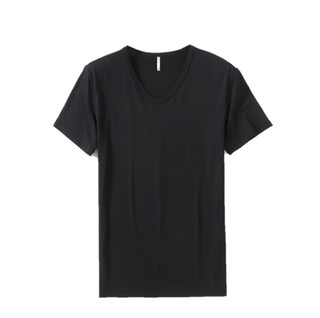MEGALOCEROS 大角鹿 莫代尔短袖T恤 黑色 S