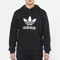 Adidas阿迪达斯 男装 三叶草运动休闲连帽卫衣套头衫 DT7964 *2件