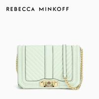 Rebecca Minkoff CHEVRON QUILTED LOVE链条单肩包