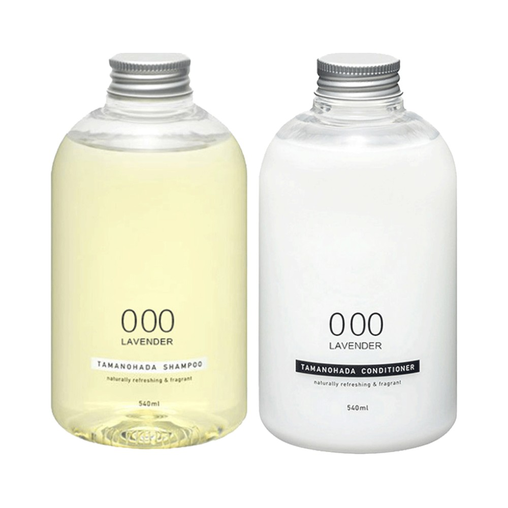TAMANOHADA 玉之肌 洗护套装(无硅油洗发水540ml+护发素540ml)