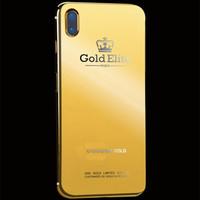 罗梅达尔 奢华限量版 私人定制 24kt镀金 皇冠 iPhone 定制后盖